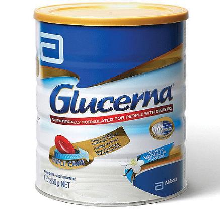 sữa glucerna úc 850g
