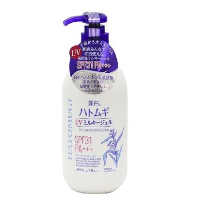 sữa dưỡng thể hatomugi ban đêm review