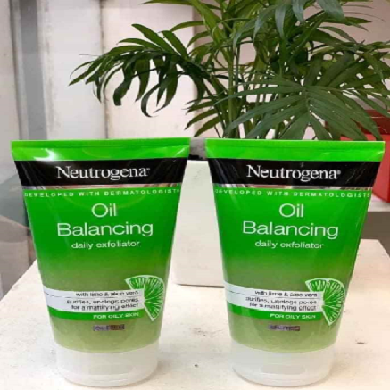 neutrogena oil balancing daily exfoliator 150ml